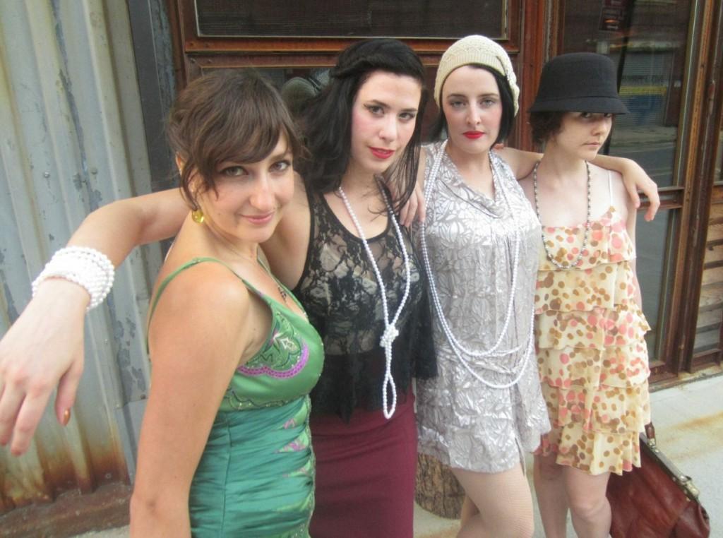Dorothy Parker Society at The Shanty in 2012