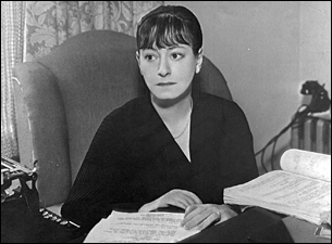 Dorothy Parker and screenplay, about 1936.
