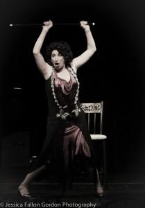 Kimberly Faye Greenberg as Fanny Brice.