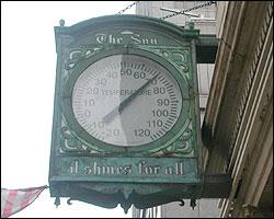 The Sun Clock