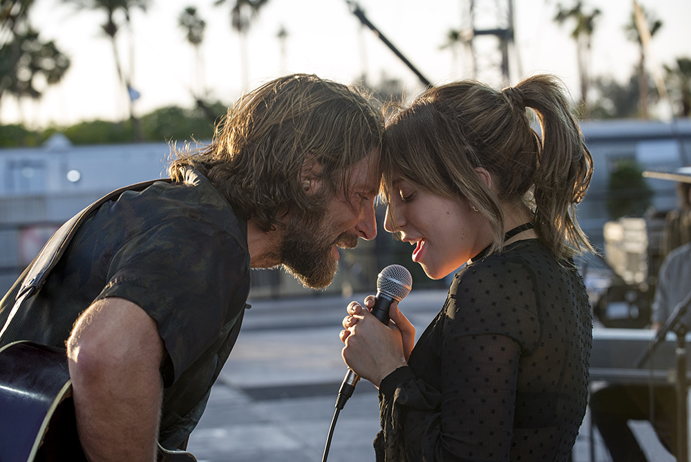 Bradley Cooper and Lady Gaga (Warner Bros.)