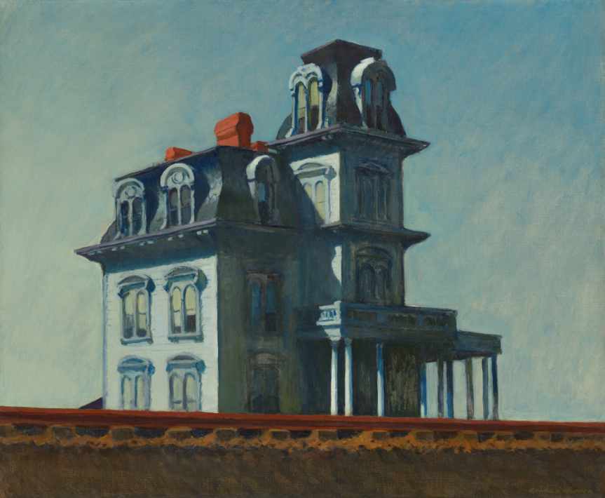 Edward Hopper, House By The Railroad (Museum of Modern Art Collection)