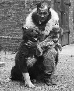 Gunnar Kaasen with Balto.