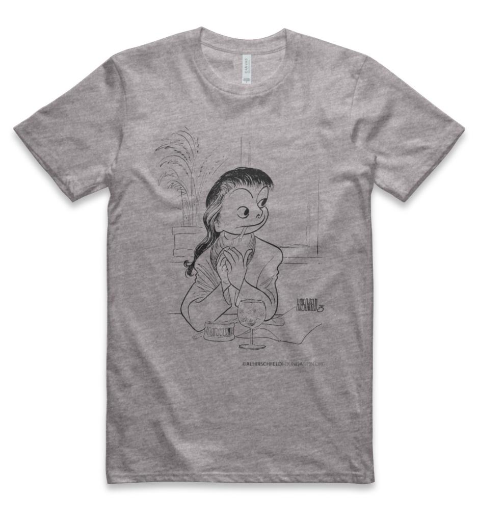 Al Hirschfeld T-shirt Front