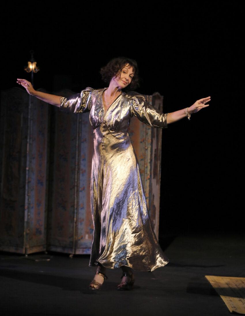 "Zabou Breitman in ""Dorothy"" Photo: Pascal Victor/Opale."